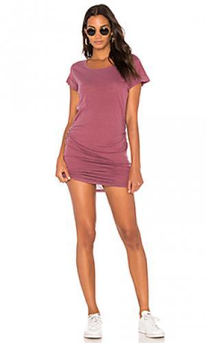 Платье из джерси Stateside. Цвет: красный