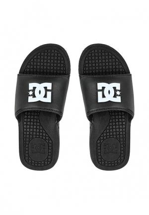 Сланцы DC Shoes. Цвет: черный