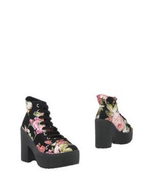 Полусапоги и высокие ботинки PEOPLE for HAPPINESS. Цвет: черный