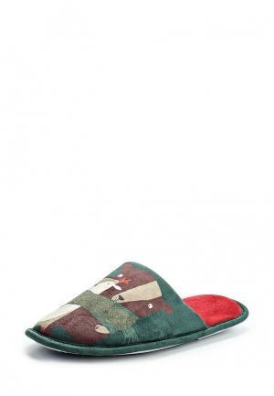 Тапочки United Colors of Benetton. Цвет: зеленый