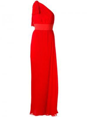 Long dress Elie Saab. Цвет: красный