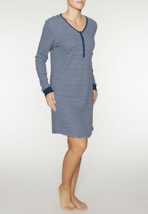 - Sporty Stripes Ночная рубашка Темно-синий Triumph