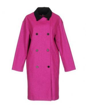 Пальто OPENING CEREMONY. Цвет: фуксия