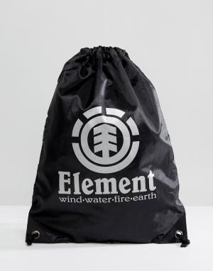 Element Черная спортивная сумка Buddy. Цвет: черный