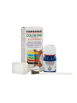 Краситель COLOR DYE, стекло TDC01, 25мл. (016 СИНИЙ) Tarrago. Цвет: синий
