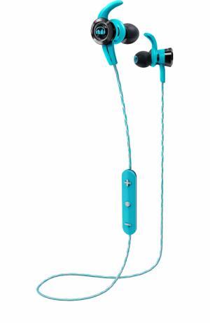 Вставные наушники iSport Victory Wireless Monster. Цвет: голубой
