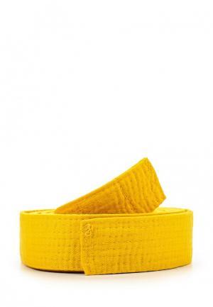 Пояс для единоборств Clinch. Цвет: желтый