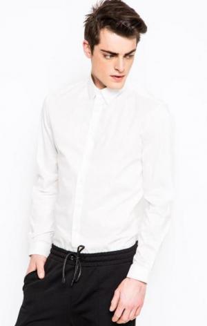 Классическая рубашка на пуговицах DRYKORN. Цвет: белый