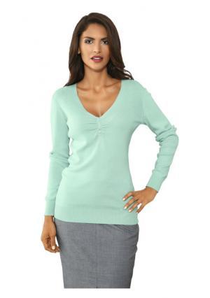 Пуловер PATRIZIA DINI. Цвет: мятный, розовый, серый меланжевый, телесный, черный