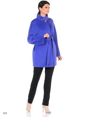 Пальто Lea Vinci. Цвет: синий