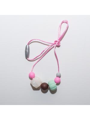Слингобусы Краски лета. Цвет: темно-коричневый, розовый, серо-зеленый