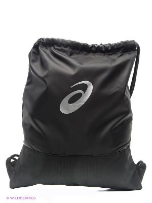 Рюкзак TR CORE GYM SACK ASICS. Цвет: черный