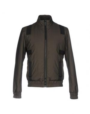 Куртка LETASCA. Цвет: темно-зеленый