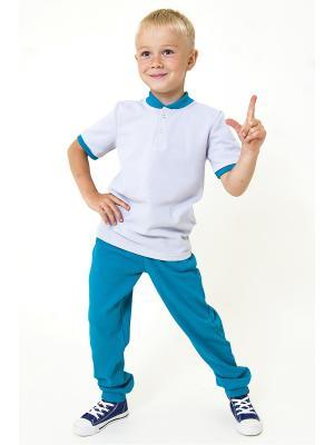 Спортивные штаны Тридевятое царство Emily Rise. Цвет: голубой