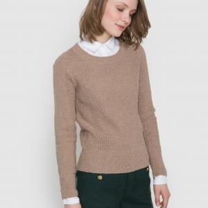 Пуловер MADEMOISELLE R. Цвет: бежевый,темно-синий