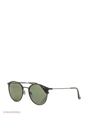 Очки солнцезащитные Ray Ban. Цвет: черный, белый
