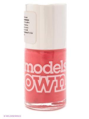 Лак для ногтей, Cream Hot Pink Models Own. Цвет: коралловый