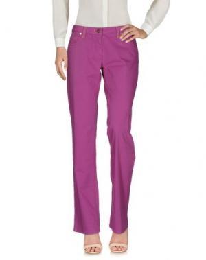 Повседневные брюки ALVIERO MARTINI 1a CLASSE. Цвет: розовато-лиловый