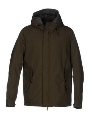Куртка BARACUTA. Цвет: изумрудно-зеленый