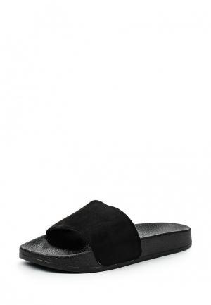 Шлепанцы Style Shoes. Цвет: черный