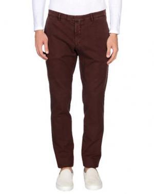 Повседневные брюки BRIGLIA 1949. Цвет: какао