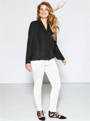Блузка Fiorella Rubino. Цвет: черный