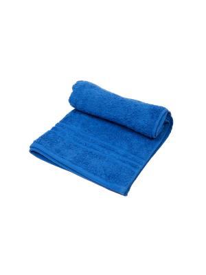 Полотенце махровое ARLONI. Цвет: синий