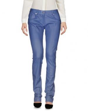 Повседневные брюки JITROIS. Цвет: грифельно-синий