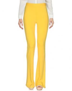 Повседневные брюки SPACE STYLE CONCEPT. Цвет: желтый