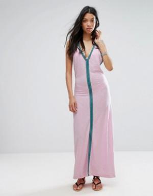 Pitusa Сарафан. Цвет: розовый