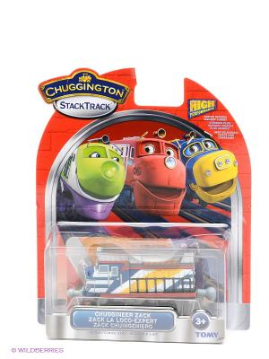 Паровозик Зак, Chuggington. Цвет: синий