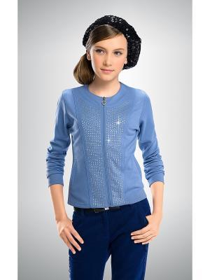 Жакет PELICAN. Цвет: голубой