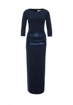 Платье Bezko. Цвет: синий