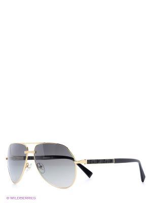 Солнцезащитные очки BLD 1518 101 Baldinini. Цвет: золотистый, черный