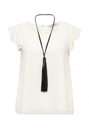 Блуза Rinascimento. Цвет: белый