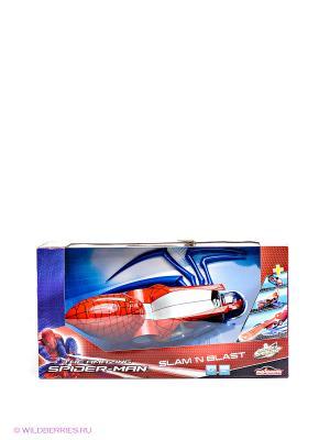 Пусковая установка Человек Паук Majorette. Цвет: красный, синий, серебристый