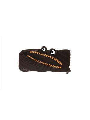 Пенал-сумочка GRILLZ POUCH, цвет черный ZIPIT. Цвет: черный