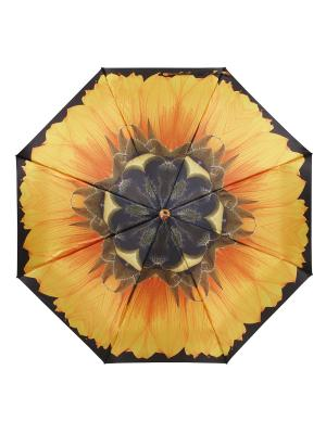 Зонт Flower Bliss DAIS. Цвет: черный, желтый