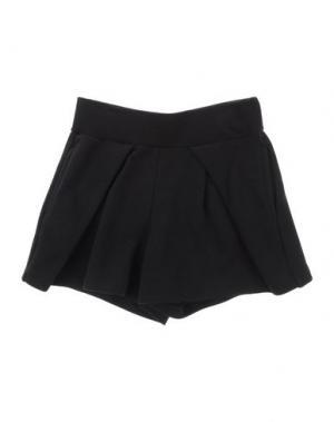 Повседневные шорты MIMISOL. Цвет: черный