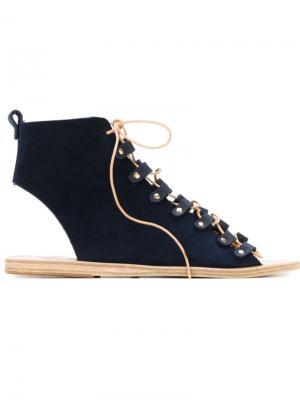 Сандалии Mache Ancient Greek Sandals. Цвет: синий