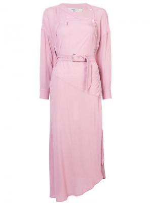 Платье на завязках Rachel Comey. Цвет: розовый и фиолетовый