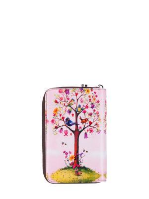 Кошелек женский Bagsberry. Цвет: розовый