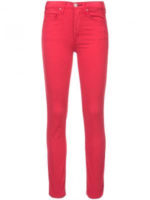 Прямые джинсы Mcguire Denim. Цвет: красный