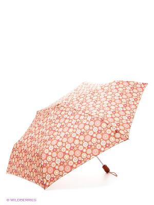 Зонт женский автомат Fulton. Цвет: красный