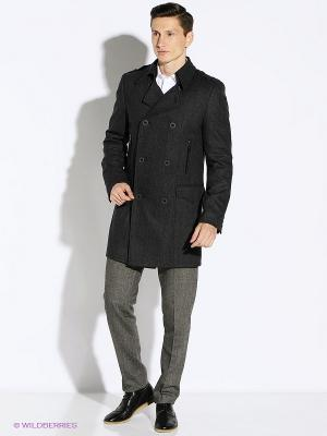 Пальто Berkytt. Цвет: темно-серый