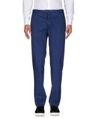 Повседневные брюки L.B.M. 1911. Цвет: темно-синий
