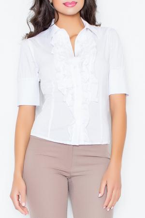 Рубашка Figl. Цвет: white