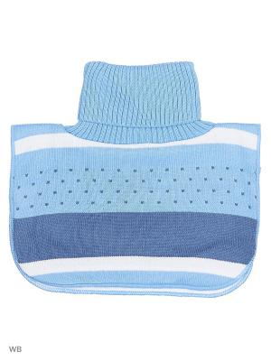 Манишка детская для мальчика Bizon. Цвет: голубой