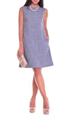 Платье-сарафан Laura Bettini. Цвет: дымчатый