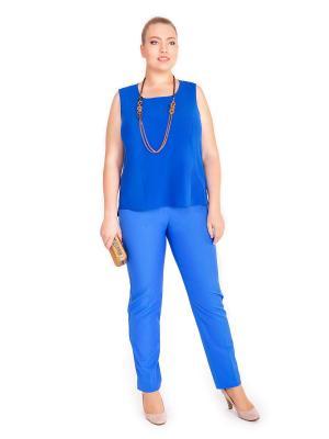 Брюки Lady Sharm Classic. Цвет: синий